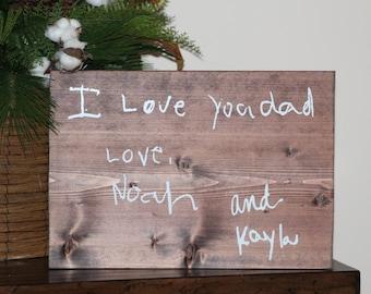 The Perfect Christmas Gift - Handwriting Keepsake - Children's Handwriting Gift