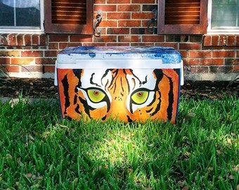 Custom Hand Painted Cooler