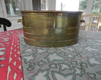 Solid Copper Tub