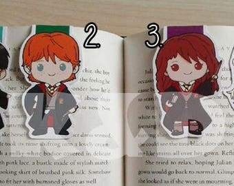 Magnetic Bookmarks • Wizard Friends
