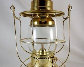 Brass Oil Lamp, Marine Oil Lamp, Nautical Oil Lamp, Oil Lamp, Caged Oil Lamp, Kerosene Oil Lamp, Hurricane Oil Lamp, Yacht Oil lamp, Vintage