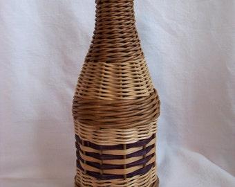 Wicker Demijohn Bottle .75 liter
