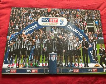 Newcastle United Champions Canvas