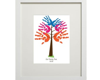 Family Tree (digital handprints)