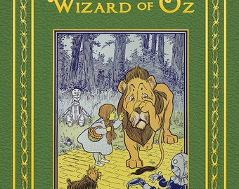 The Wonderful Wizard of Oz Personalised Novel - Softback