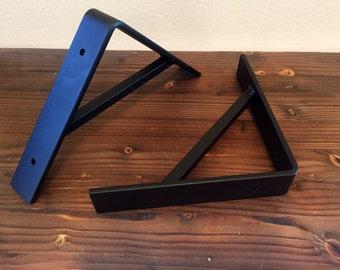 2pc set shelf brackets handmade supported metal corbel