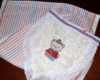 Linen decorative towel