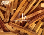 1 lb (16 oz, 454 g) Palo Santo Holy Wood natural incense bulk lot