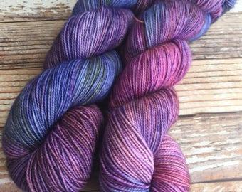 Mercedes - Wildflowers - Hand Dyed Yarn - 80/20 Superwash BFL/Nylon
