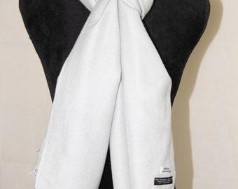 Elegant Silver Cashmere Silk Pashmina Shawl/ Cashmere Pashmina Scarf/ Cashmere Pashmina Wrap/ Cashmere Bridesmaid Shawl / Travel Blanket