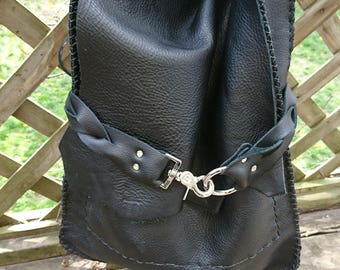 100% Geniune Hand Made Leather Purse