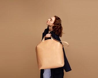 VALTARI Traveler Leather Bag Natural