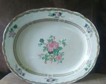 Vintage Booths Platter-Circa 1901 Pattern 1093
