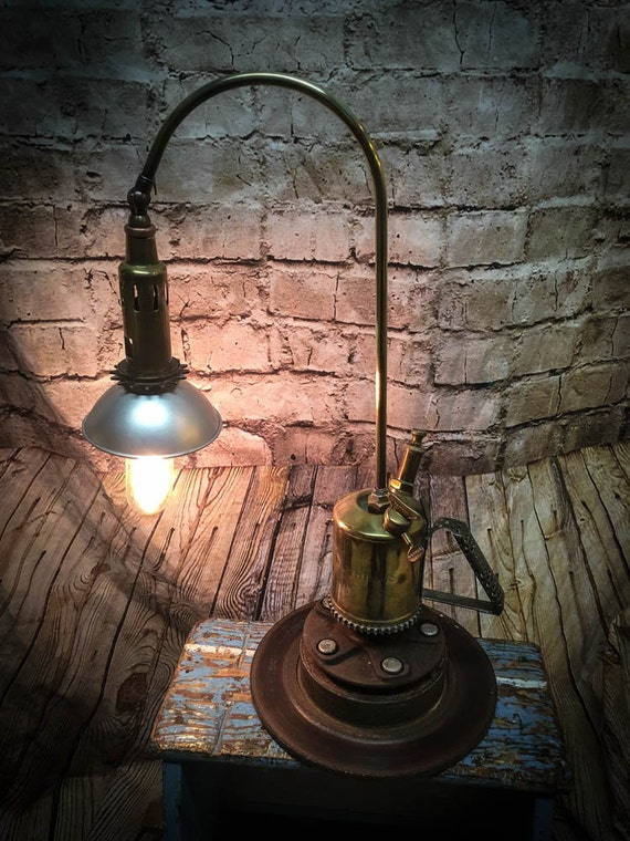 SteamPunk Desk Light