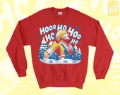 Tidus Laugh SWEATER Jolly Tidings // Final Fantasy X FFX // Internet Memes // Ugly Sweater // Holiday Christmas Sweater // Gamer Gifts featured image