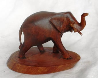Elephant wood carving (#elfwstnd7)