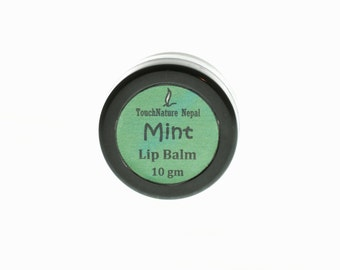 Fairtrade Mint Lip Balm