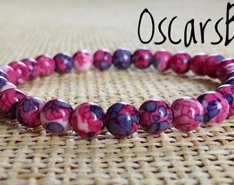 Colorful Crystal bracelet.Women bracelet.Energy bracelet.