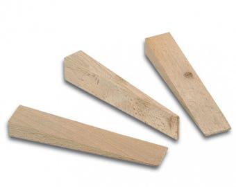 Bohle Hardwood Wedges 2mm-15mm 100mm Long