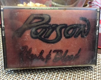 Poison Flesh And Blood Cassette Tape