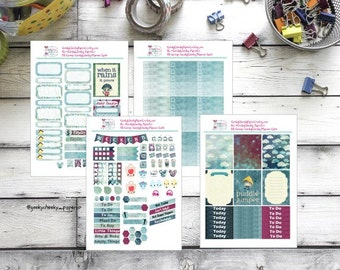 Puddle Jumper planner kit for vertical planners