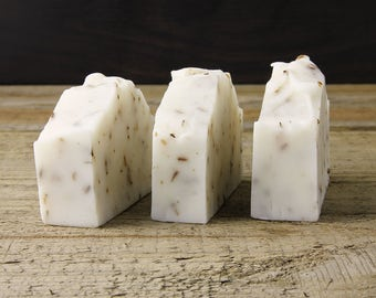 French Lavender Soap / Palm Oil Free / Vegan / Handmade