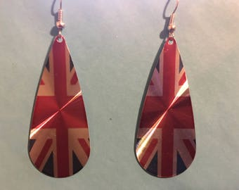 British Flag Earrings  R19
