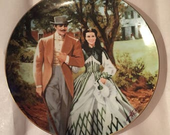 1989 Gone with the Wind Collectors Plate
