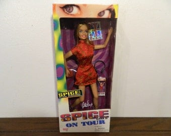 1998 Spice Girls On Tour Geri Ginger Spice Action Figure