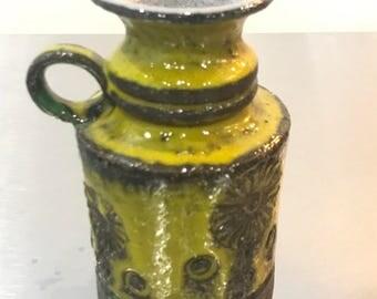 1960's Pottery vase