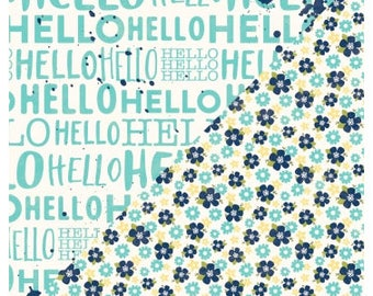 Jillibean Soup 12x12 Jar of Jambo Patterned Paper - Wholesale Pack of 25