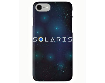 Solaris, funda para iPhone 7 Plus 6 6s Plus 5 5s SE 5c 4 4s, science fiction, carcasa, George Clooney, Steven Soderbergh, Stanisław Lem