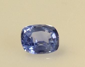 Ceylon Blue Sapphire 0.74 Ct Unheated
