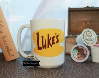 Gilmore Girls Mug, Lukes Diner Mug, Cute Coffee Mug, Stars Hallow Connecticut, Gilmore Girls, Gifts for Her, Coffee Mug, Coffee Lover Mug