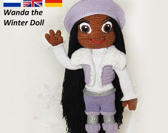 Wanda the Winterdoll - Crochet Pattern