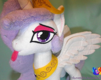 Princess Molestia custom handmade My Little Pony plushie MLP