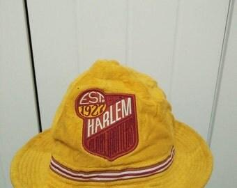 Rare Vintage HARLEM x PLATINUM FUBU Bucket Hat