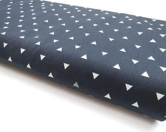 Triangle Tokens Ink Metallic - Observer - HALF YARD - Art Gallery Fabric - Cotton Fabric - Quilting Fabric - Honeycomb Tula Fabric