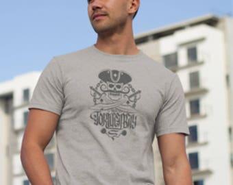 Crossed Swords Tortuga Bay Pirate T-shirt,Pirate Cross Cutlass print, Pirate Skull Print,Pirates  T-Shirt,Tortuga Bay Pirate T-shirt. Pirate