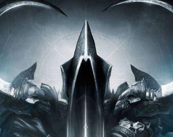 Malthael weapons Diablo III cosplay props