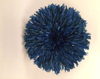 Juju Feather Blue Hat Wall Home Decor