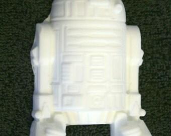 White R2D2 Bar Soap