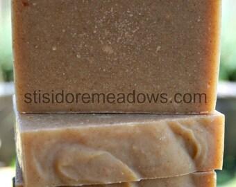 Goat Milk Soap 4 bars Handmade Cold Process CP Castile Olive Oil