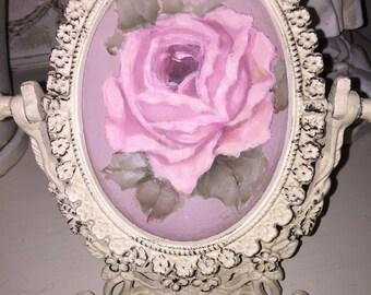 Beautiful Rose Oil Painting.