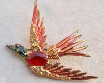 1930's Large Bird Pin