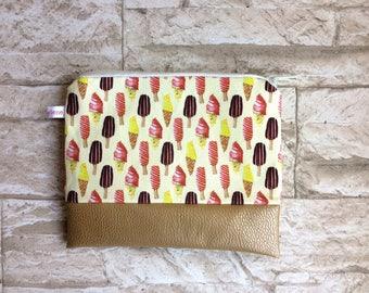 Pencil case / cosmetics bag ice