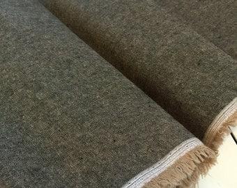 Yarn dyed linen ESPRESSO