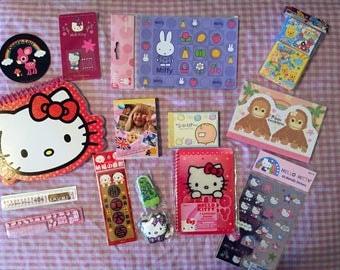 Kawaii memo pads, stickers & MORE lot