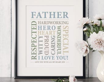 Daughter to Father Gift Father of the Bride Gift Son to Father Gift Father Wedding Gift Dad Gifts from Daughter Gift for Father New Dad Gift