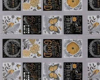 Bee Inspired Pebble Grey 19790 12 Moda Fabrics By Deb Strain 100% Cotton Quilting Fabric